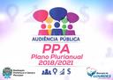 Audiência Pública - PPA 2018/2021